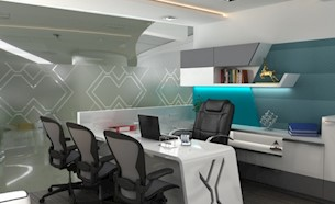 Modern Office Cabin Interior Design