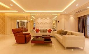 Specious Living Room Interior Design