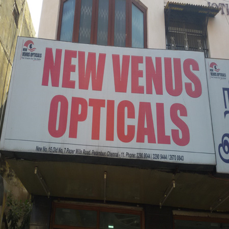 3ce0212d65c New Venus Opticals in Perambur