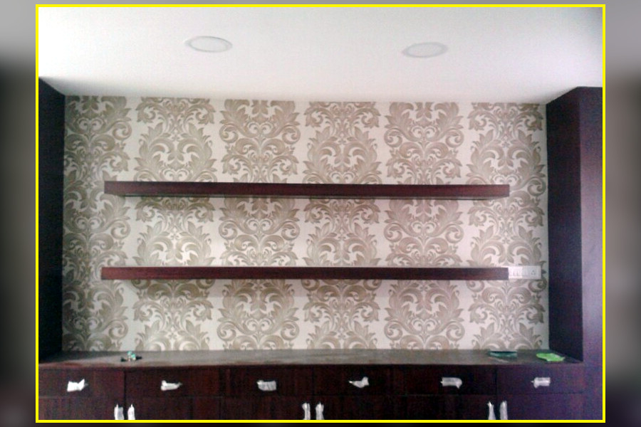 The walltrendz interior wallpaper decorators in madiwala for 3d wallpaper for home in bangalore