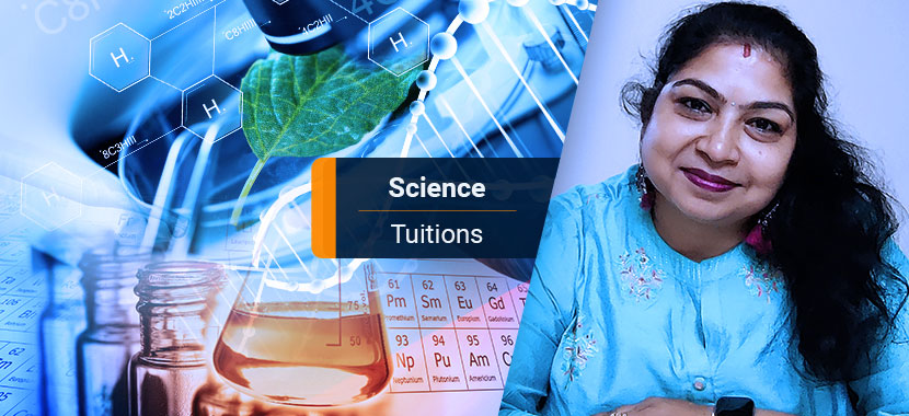 Science Tuition for Grade VI to VIII Students