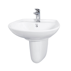 Toto LW300CM Half Pedestal Wash Basin Price, Specification