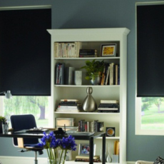 VYOMA EXIM ECO Plain Roller Blind