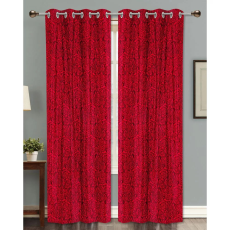 Dekor World DWCT 1165 Eyelet Window Curtain