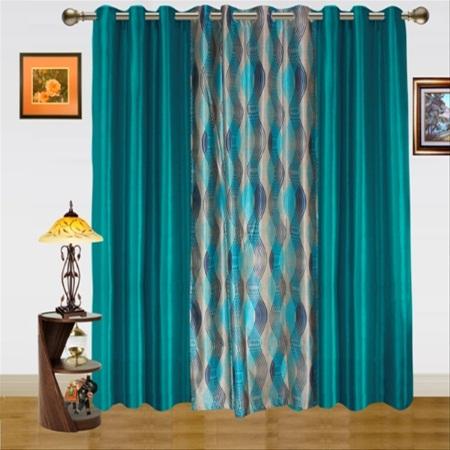 Dekor World DWCT 582 5 Solid Curtains