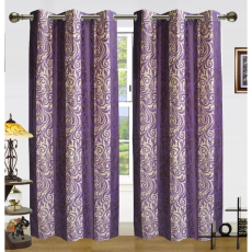 Dekor World DWCT 711 Eyelet Window Curtain