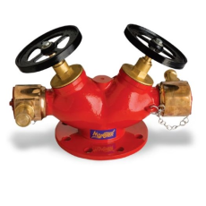 Monsher MON HYD 002 Double Headed Hydrant Valves Fire Hydrant System