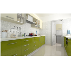 Livspace Romaine Parallel Kitchen