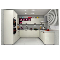 Beau Sleek BLING U Shaped Kitchen