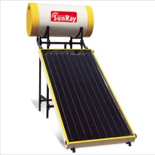 Sunray solar water heater price 2018 latest models specifications sunray solar fpc non pressurised 150 litre solar heater sciox Gallery